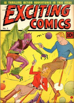 Exciting Comics #5. Click for current values.