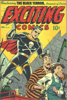 Exciting Comics #54. Click for current values.