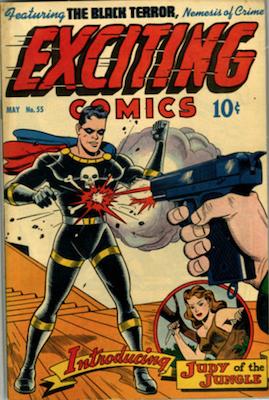 Exciting Comics #55. Click for current values.