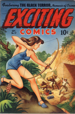 Exciting Comics #57. Click for current values.