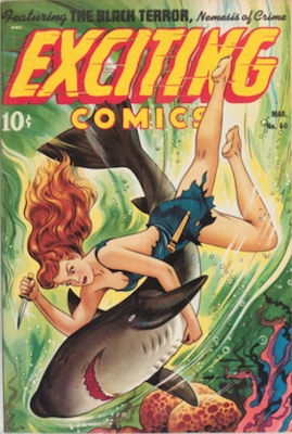 Exciting Comics #60. Click for current values.