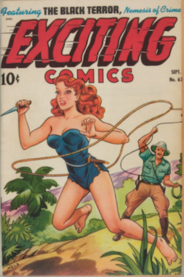 Exciting Comics #63. Click for current values.