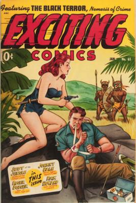 Exciting Comics #65. Click for current values.