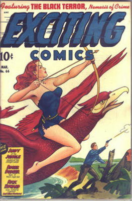 Exciting Comics #66. Click for current values.