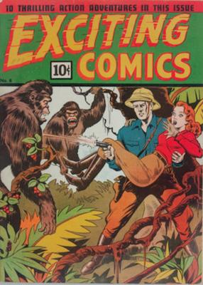 Exciting Comics #8. Click for current values.