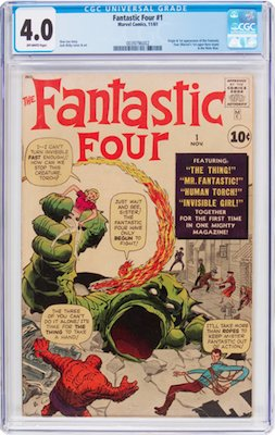 Fantastic Four #1 is best purchased in VG or nicer. This book is VERY prone to Marvel chipping, and its pale cover shows dirt and tanning easily. Click to buy