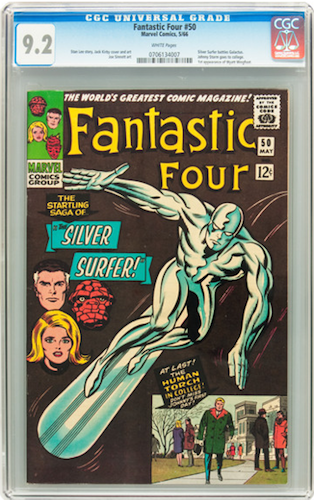 Fantastic Four #50, invest in CGC 9.2. Click for values