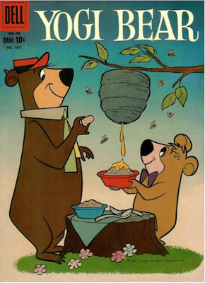 Four Color #1067: Yogi Bear (#1). Click for values.