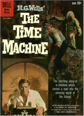 Four Color #1085: H. G. Wells' the Time Machine. Click for values.