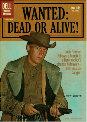 Wanted Dead or Alive: Four Color #1102. Click for values