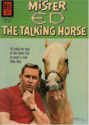 Mr. Ed, the Talking Horse: Four Color #1295. Click for values