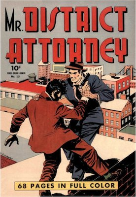 Mr. District Attorney: Four Color #13. Click for values