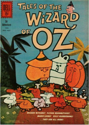 Wizard of Oz: Four Color #1308. Dell. Click for values