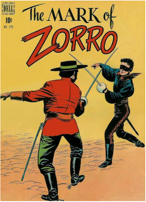 Four Color #228: The Mask of Zorro (#1). Click for values.