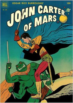 Four Color #375: John Carter of Mars, origin. Click for values.
