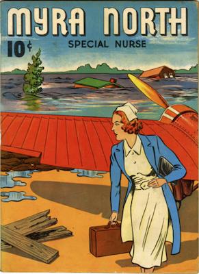 Myrna North: Four Color #3 (1940). Dell. Click for values