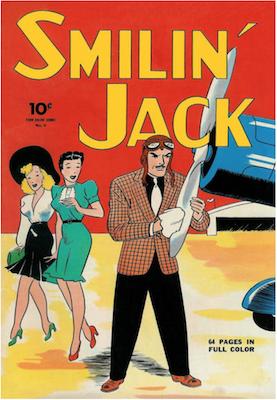 Smilin' Jack: Four Color #4 (1942), Dell Comics. Click for values