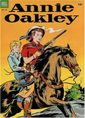 Annie Oakley (#1): Dell Four Color #438. Click for values