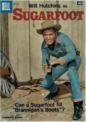 Sugarfoot: Four Color Comics #907. Click for values