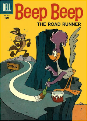 Beep Beep, the Road Runner (#1): Dell Four Color #918. Click for values