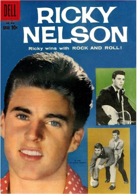 Ricky Nelson (#1): Four Color #956. Click for values
