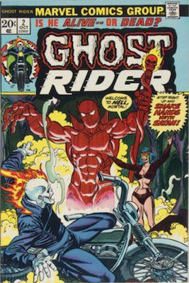 Ghost Rider #2: 1st Son of Satan Cameo. Click for values