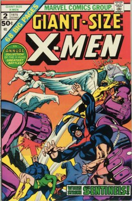 Giant-Size X-Men #2. Click for values