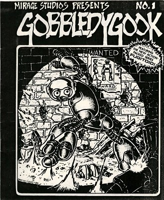 Gobbledygook #1 (1984): Rare Eastman and Laird Book, Photocopied and Stapled; Forgeries are Common. Click for value