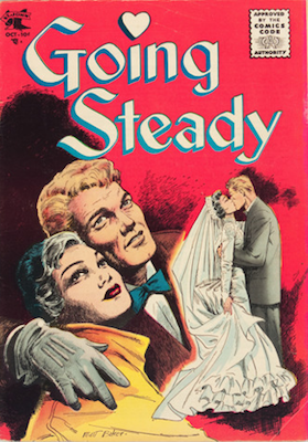 Going Steady #14: Matt Baker cover. Click for values