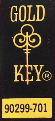 Gold Key Comics don't have typical issue #s on the covers. Sometimes they have a code, like this. Often you have to open the book to look in the fine print to identify them