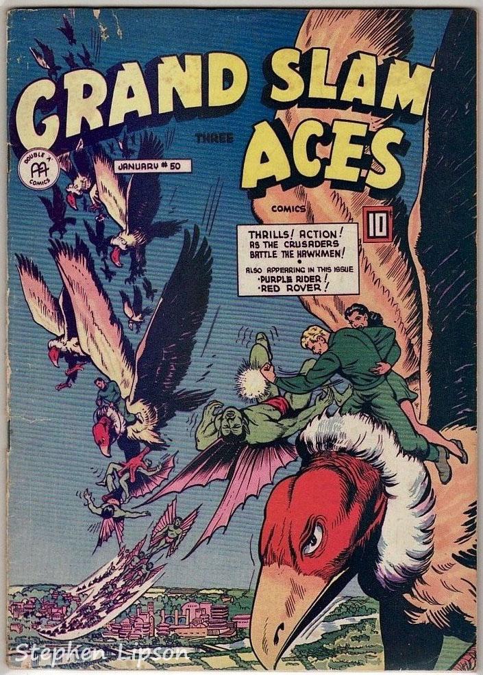 Grand Slam Three Aces Comics issue #50