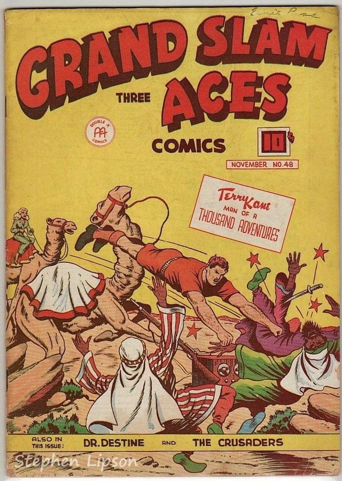 Grand Slam Three Aces Comics issue #48