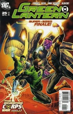 Green Lantern v4 #25, 1st Larfleeze (Agent Orange). Click for values