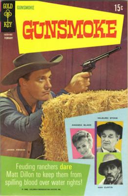 Gunsmoke #1 (1969), Gold Key comics. Click for values