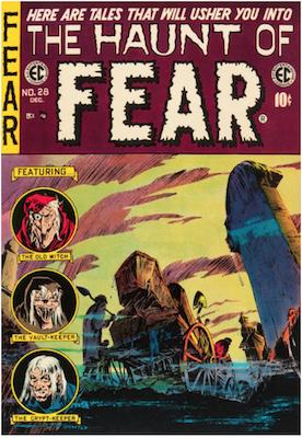 Haunt of Fear #28. Click for current values.