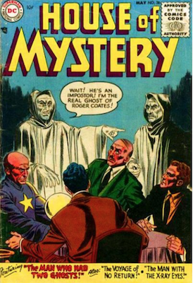 House of Mystery #38. Click for current values.