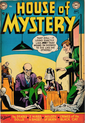 House of Mystery #14. Click for current values.