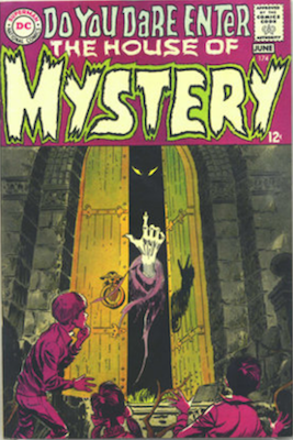 House of Mystery #174, Mystery Format Begins, Classic Cover. Click for values