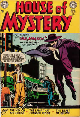 House of Mystery #20. Click for current values.