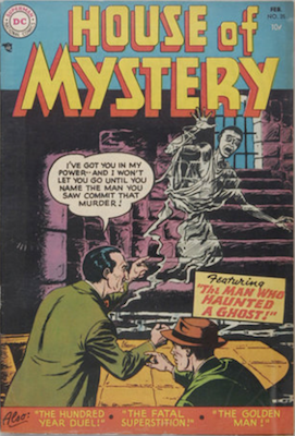 House of Mystery #35. Click for current values.