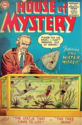 House of Mystery #37. Click for current values.