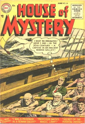 House of Mystery #39. Click for current values.