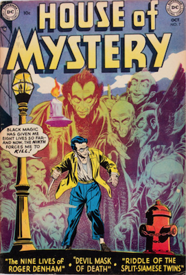 House of Mystery #7. Click for current values.