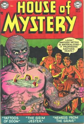 House of Mystery #8. Click for current values.