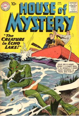 House of Mystery #94. Click for current values.