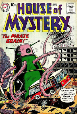 House of Mystery #96. Click for current values.