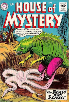 House of Mystery #99. Click for current values.