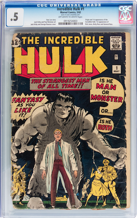 THIS Incredible Hulk #1? Both are