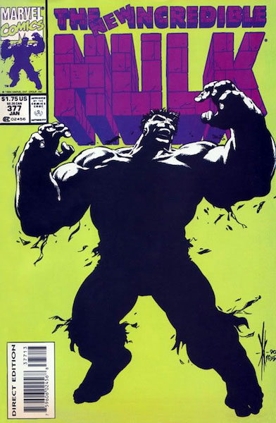 #47: Incredible Hulk 377 Third Printing, McKeown/McLeod (1994). Click for values