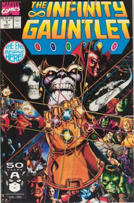 Infinity Gauntlet #1. Click for values